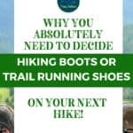 Hiking Boots or Trail Running Shoes