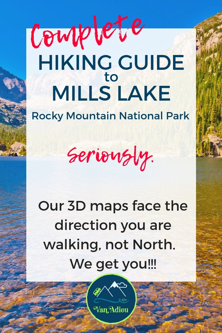 Our guide has 3d maps that will help you get to Mills Lake Easily!