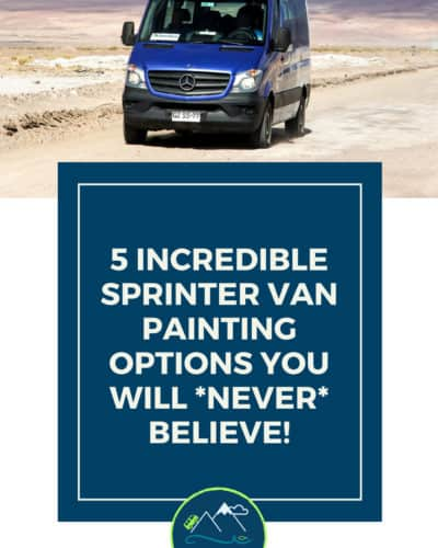Painting a Sprinter Van Options