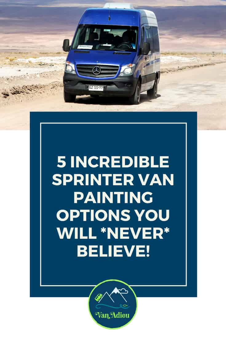 Painting a Sprinter Van Options!
