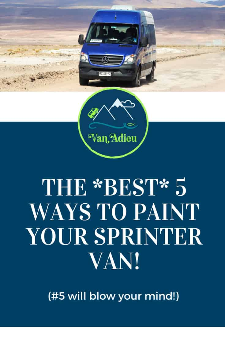 Paint Options for your Sprinter Van Conversion