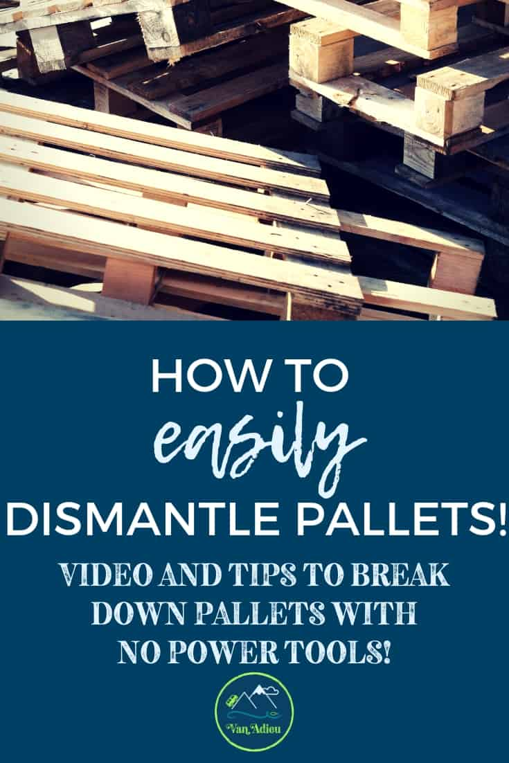 Pallet Dismantling tool for pallet projects