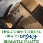 Pallet Dismantling Tool: How to dismantle pallets easily and quickly!