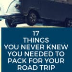 Road Trip Essentials for your packing list