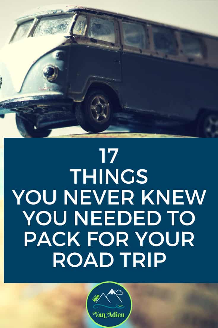 Road Trip Essentials for your packing list you NEED, but probably forgot!