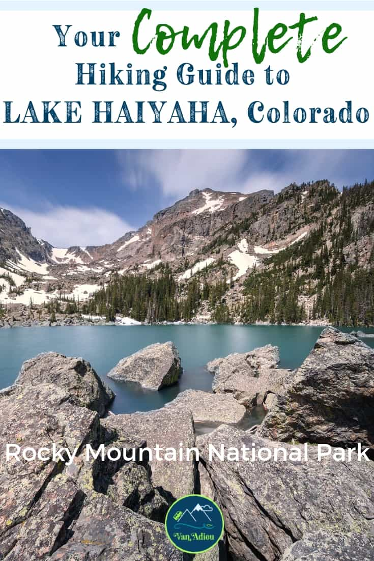 Your Guide to the Lake Haiyaha Trail (with 3d maps!)
