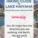 Lake Haiyaha Rocky Mountain National Park Estes Park Colorado