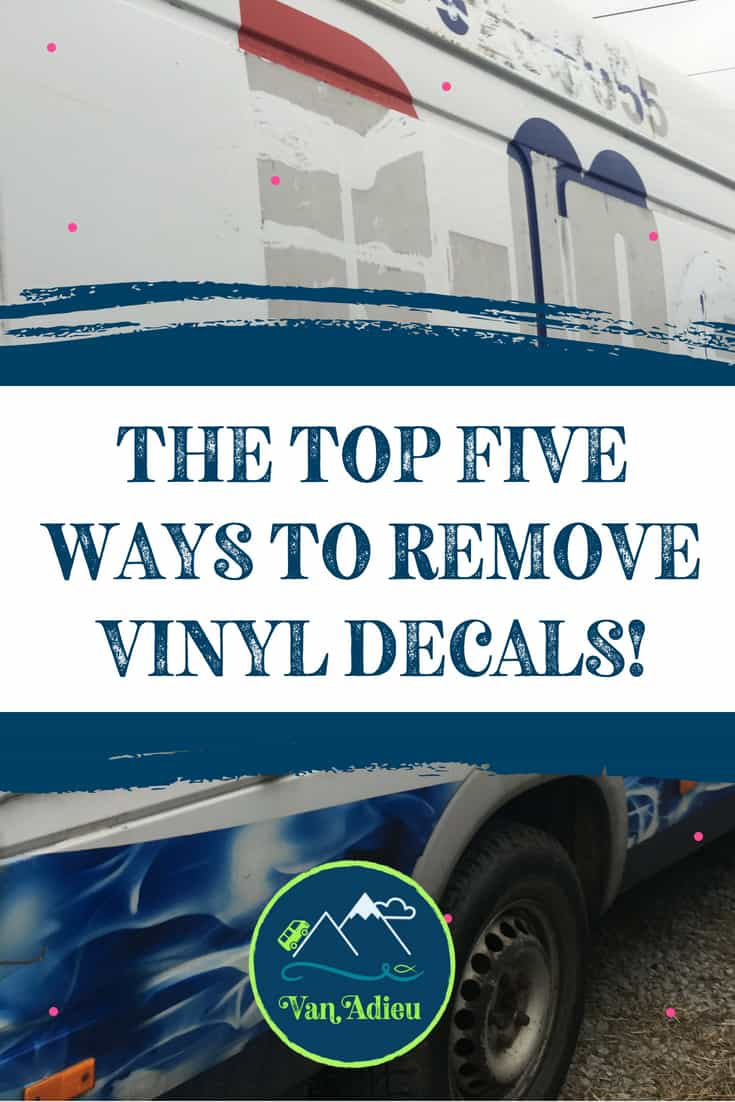 Top 5 Ways to Remove Vinyl Decals or Lettering GUARANTEED!
