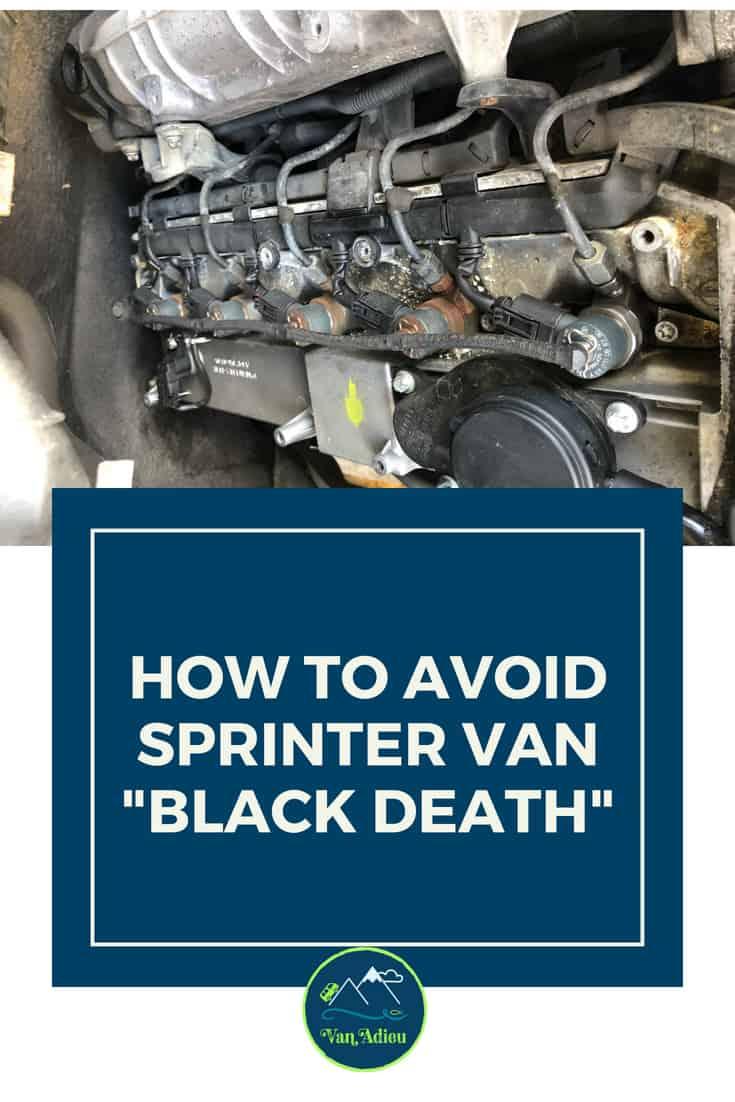 How to Avoid Sprinter Van BLACK DEATH - Leaking Fuel
