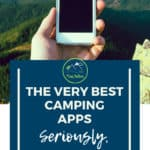 iPhone and Android Camping apps