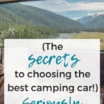 Ultimate Guide to camping car options