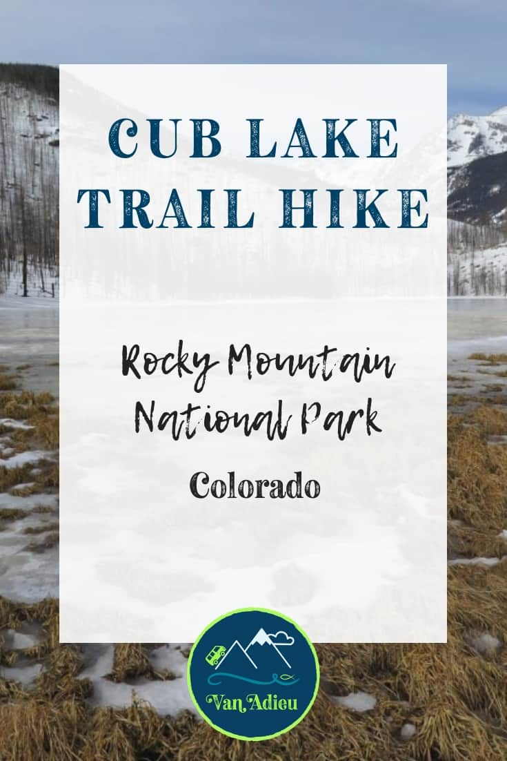 You CAN hike to Cub Lake in Rocky Mountain National Park, and we can help!