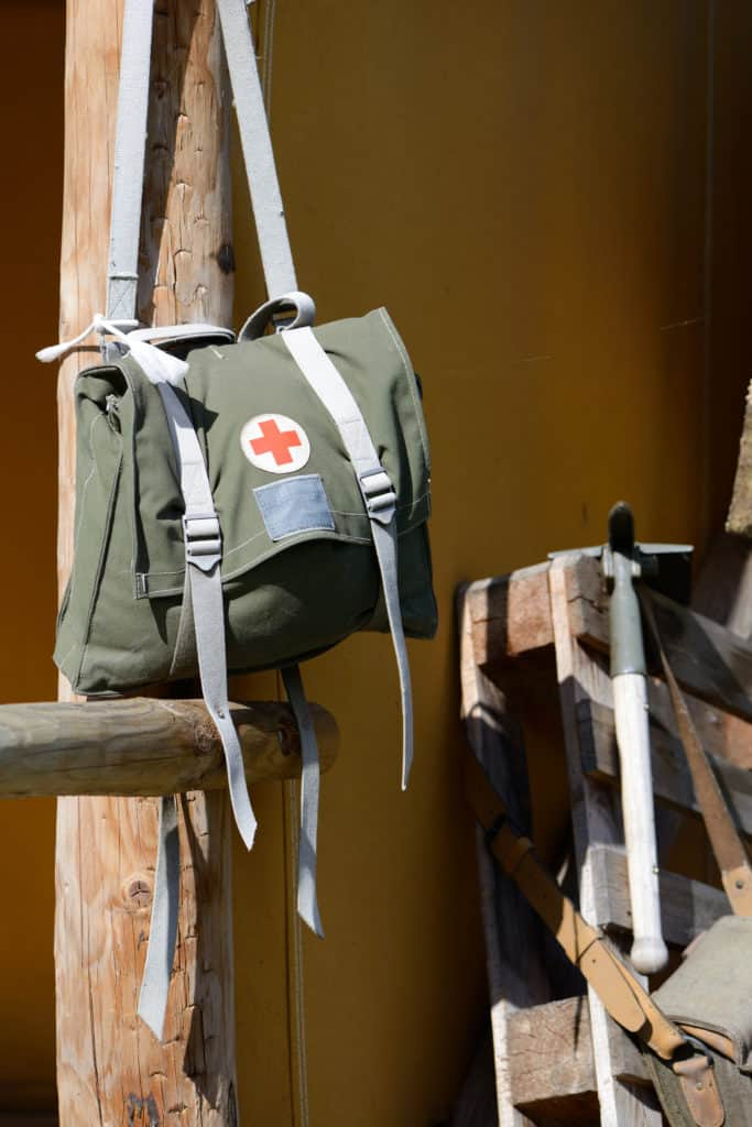 army medic first aid bag