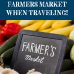 Find a Farmers Market in your Sprinter Van on your Road Trip