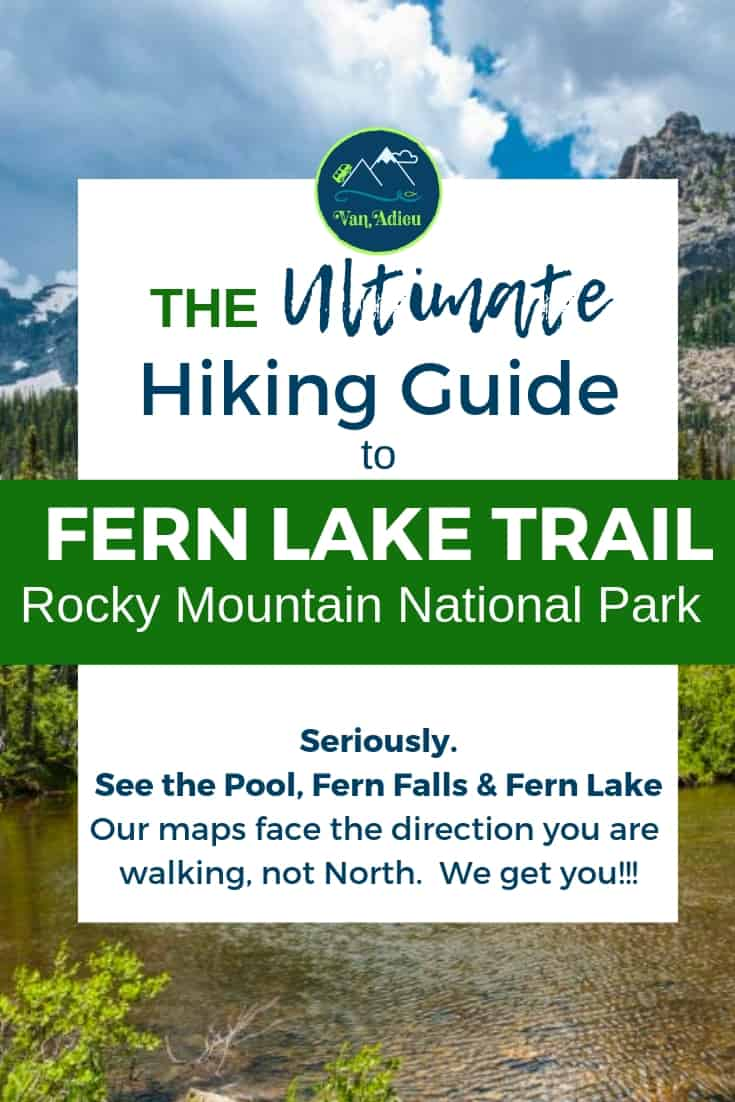 This Guide will get you to Fern Lake Trail in Rocky Mountain National Park in Estes Park, Colorado