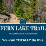 Fern Lake Trail Rocky Mountain National Park Estes Park Colorado