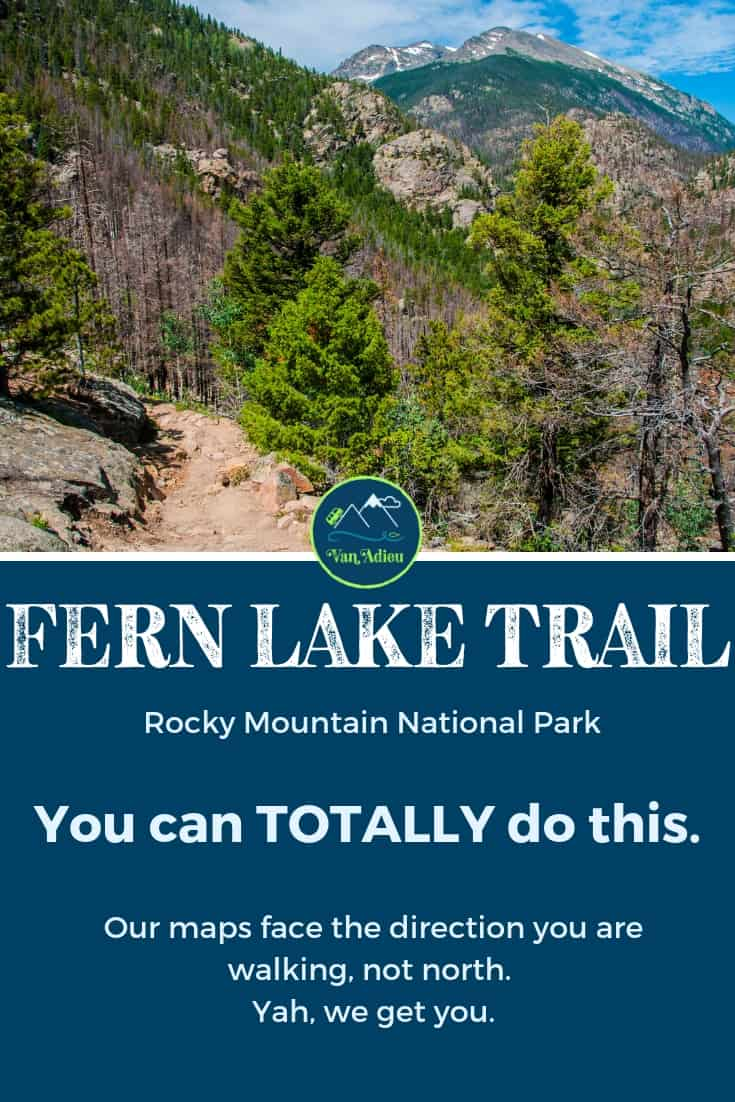 Your guide to the Fern Lake Trail in Rocky Mountain National Park, Estes Park, Colorado