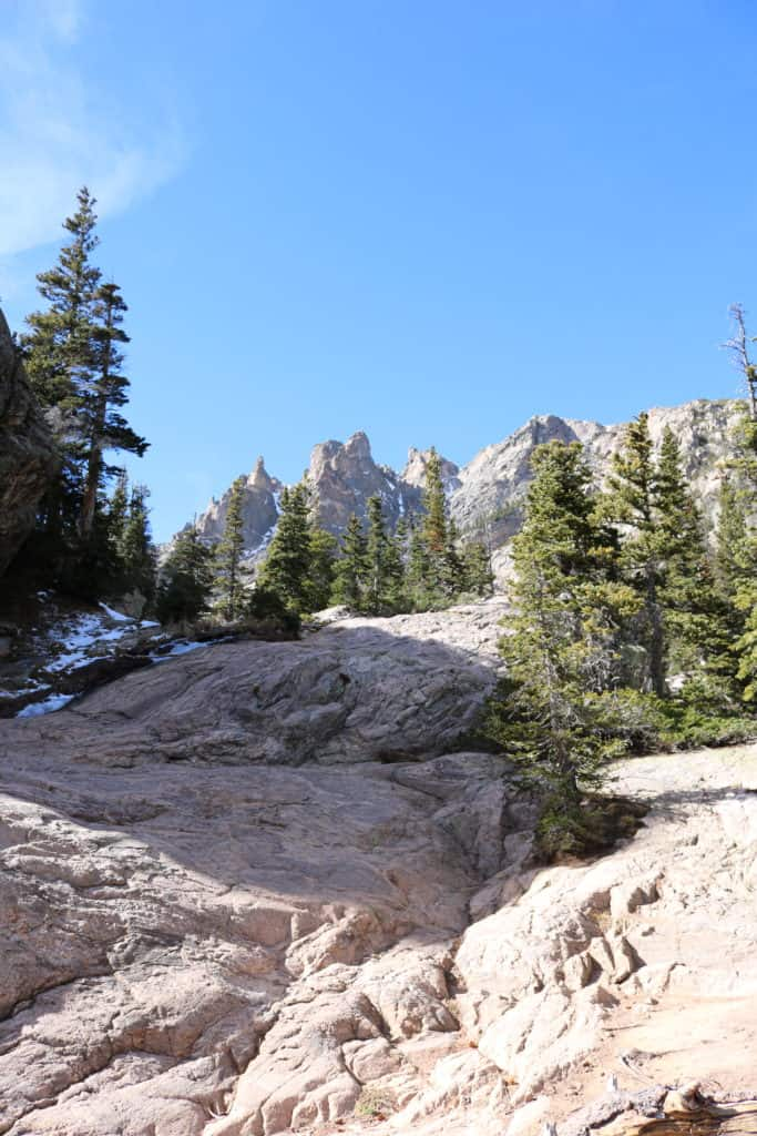 Hike to Emerald Lake in Rocky Mountain National Park