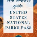 Complete Guide to the United States National Park Pass with Red Wave National Park in the Background