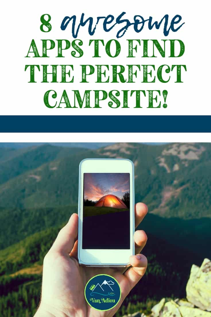 The best and MOST useful camping apps for your road trip or outdoor adventure!