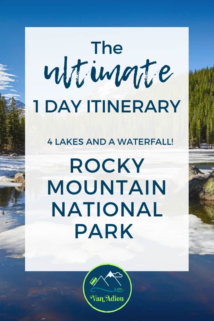 The Ultimate 1 Day Itinerary for Rocky Mountain National Park