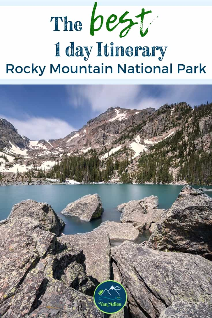 The BEST 1 Day Rocky Mountain National Park Itinerary!