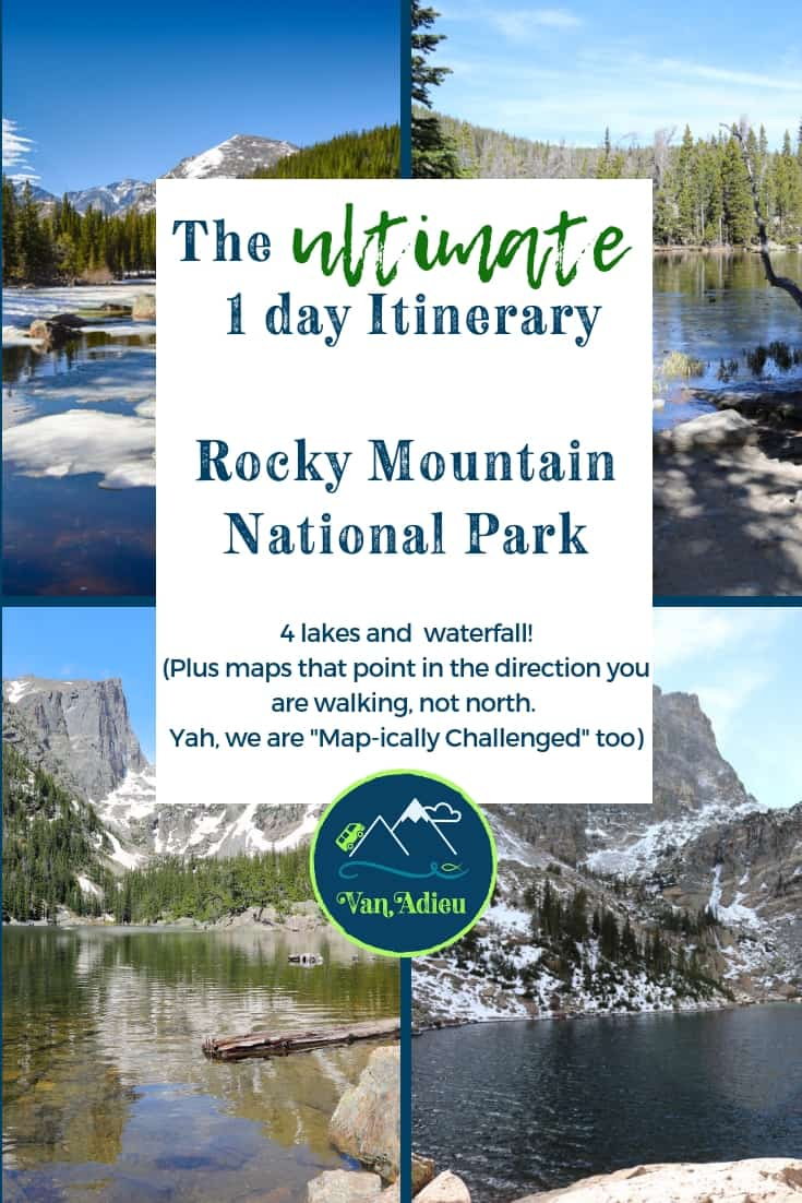 The BEST 1 Day Rocky Mountain National Park Itinerary !