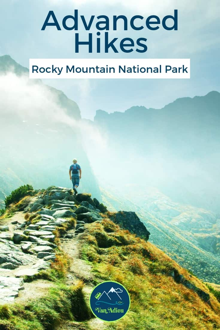 Advanced Hikes in Rocky Mountain National Park, Estes Park, Colorado