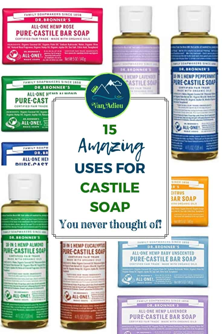 Dr. Bronners Castile Soap is the ultimate for hiking, camping, and family vacations! Find out how!