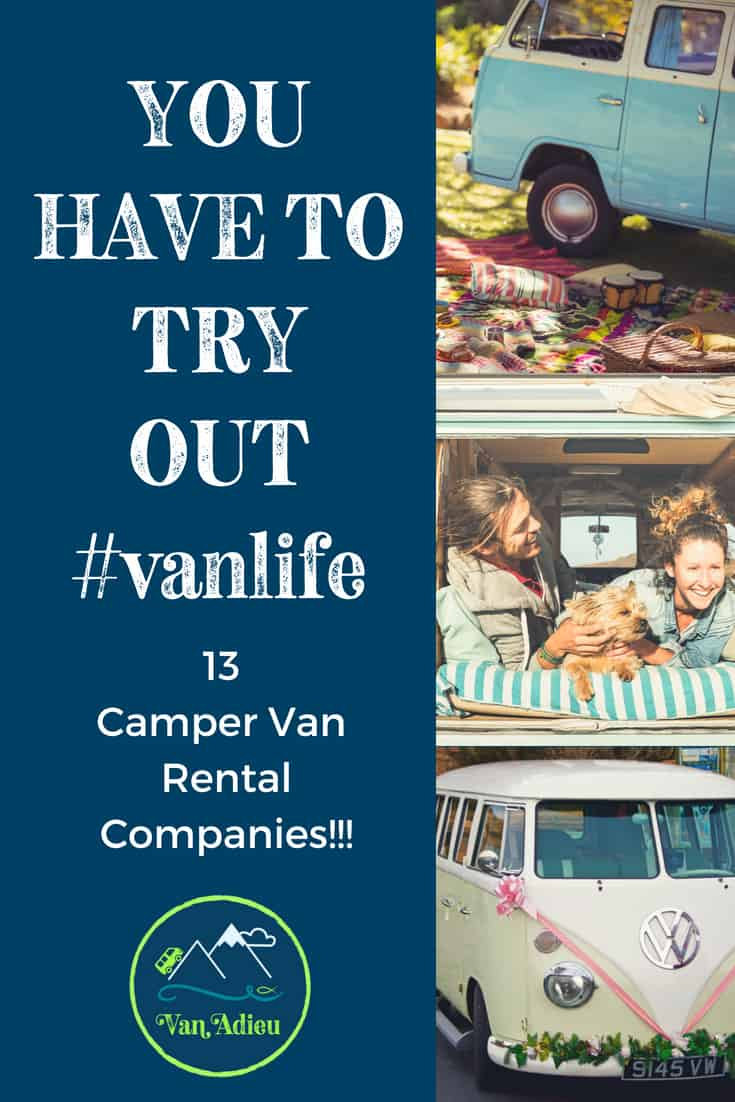 13 Easy Ways to Rent Incredible Camper Vans to Try Out #VanLife!