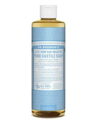Dr. Brommers Baby Unscented Castille Soap