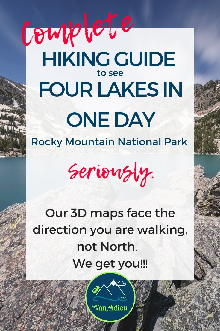 The Best Outdoor Resource for hiking TO FOUR LAKES in Rocky Mountain National Park
