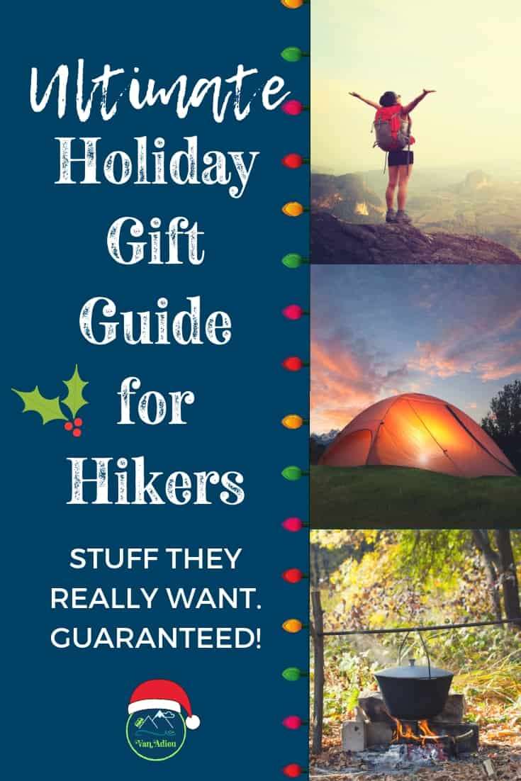 The Ultimate Gift Guide for the Holidays for Hikers, Campers, Backpackers and Outdoor Lovers