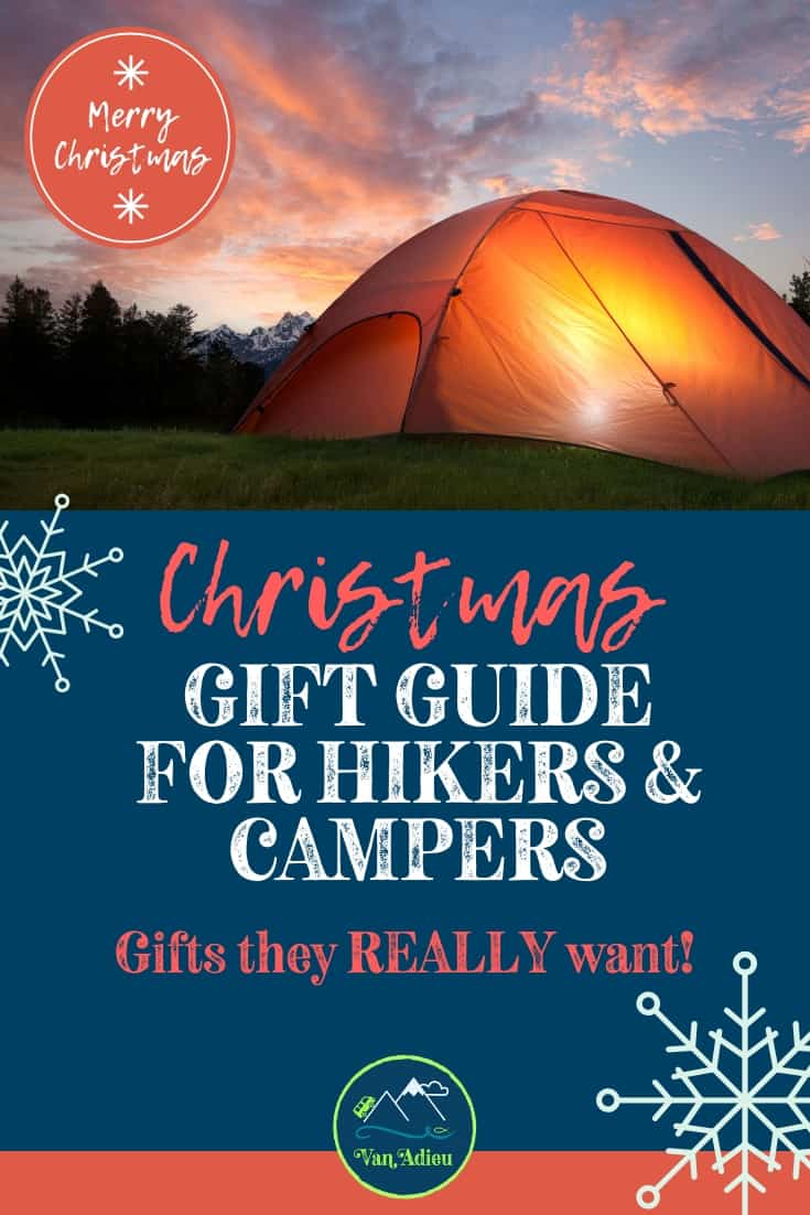 Gift Guide for Hikers, Backpackers and Outdoor Lovers!