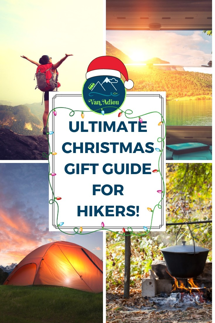 Holiday and Christmas Gift Guide for Hikers and Campers and Backpackers