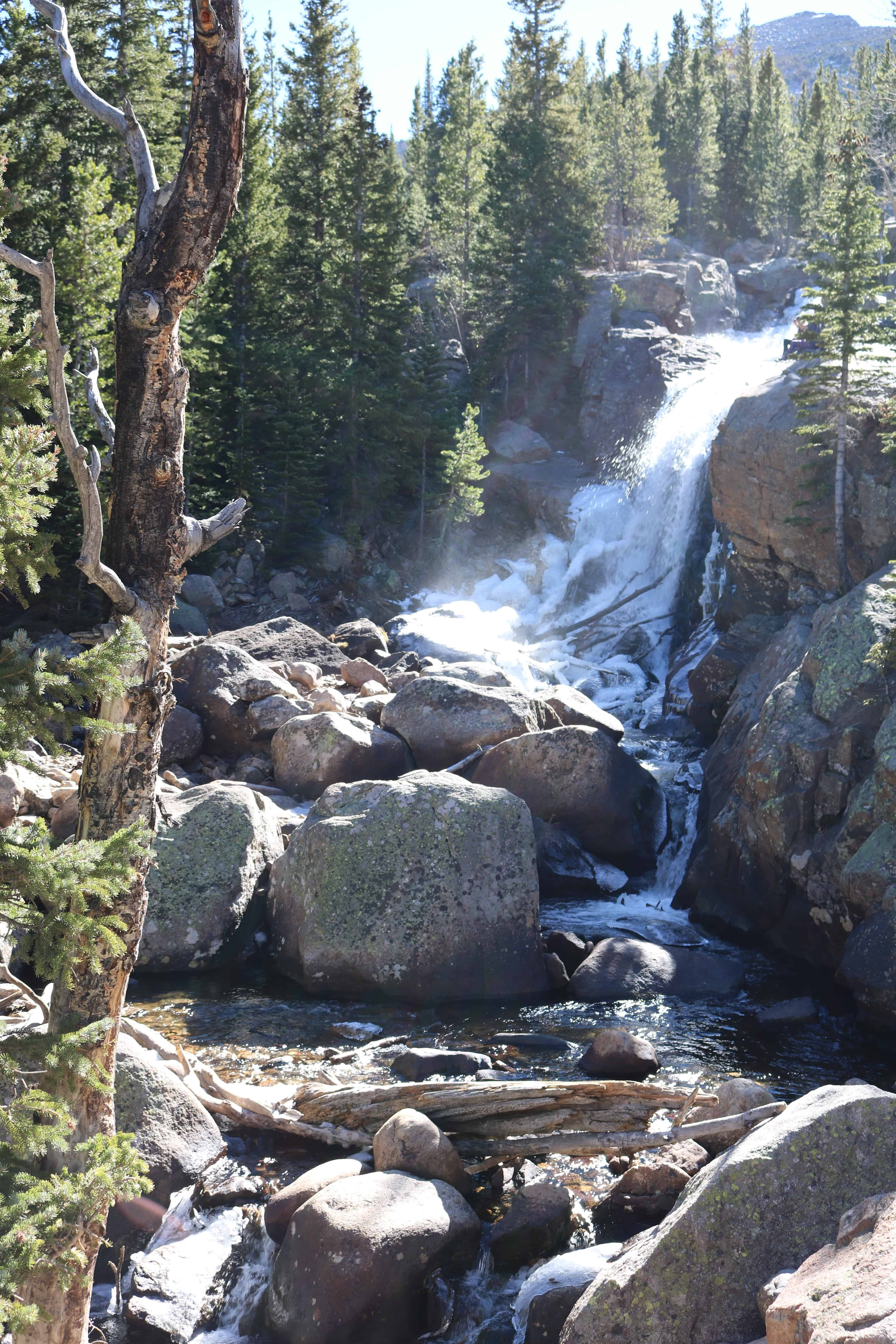 Alberta Falls - Rocky Mountain National Park - Estes Park