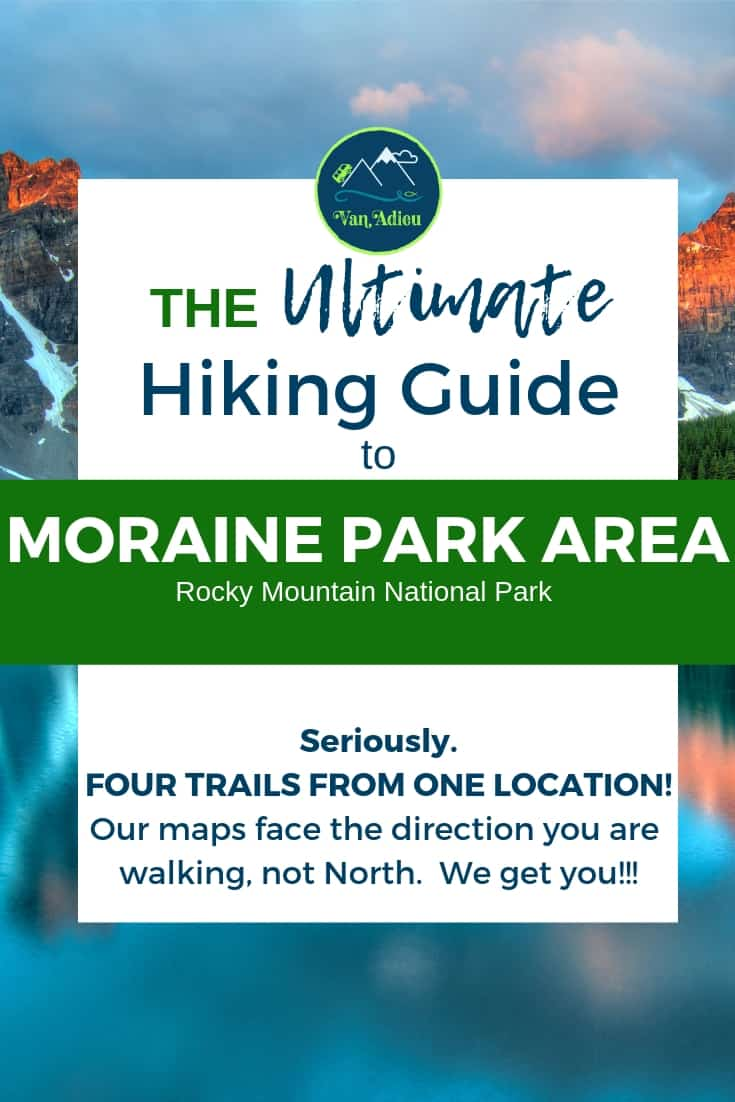 Beginner hiker tips, gear, trails, and 3D maps that show the direction you are hiking, not north! We get you!