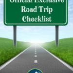 Official Exclusive Road Trip Checklist