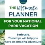 Planning National Park Road Trip