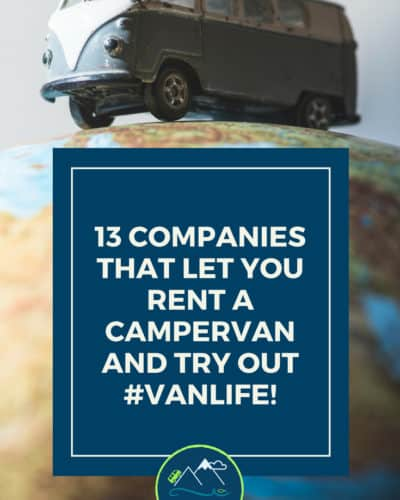 13 Rental Van Companies that rent Camper Vans, VW Buses and RVs