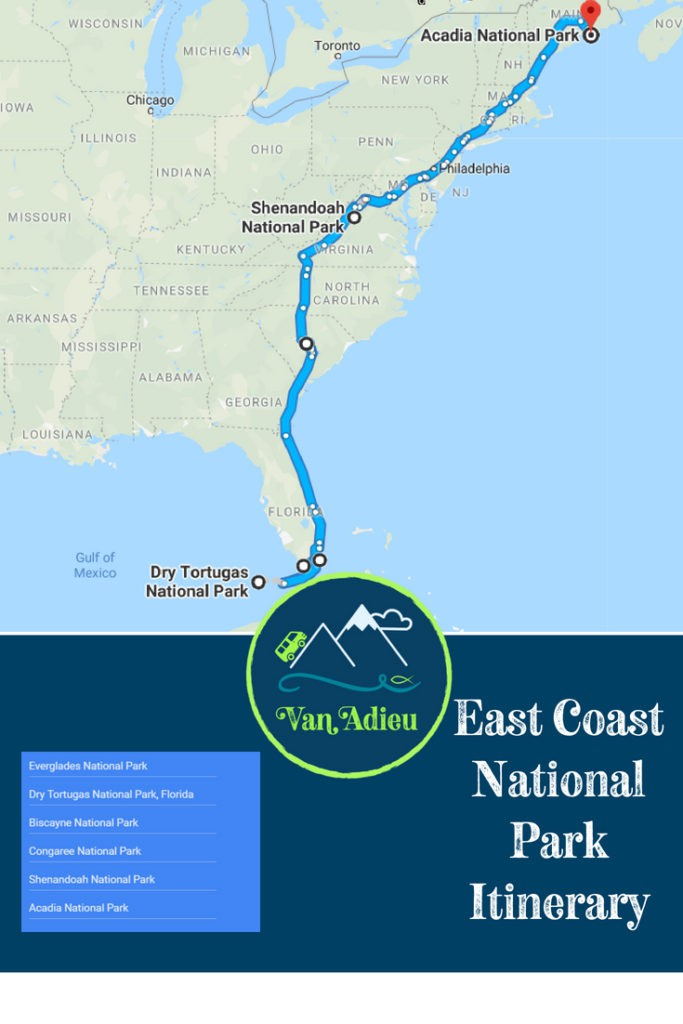 East Coast Road Trip