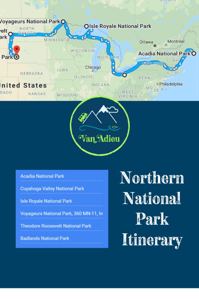 Northern National Park Road Trip