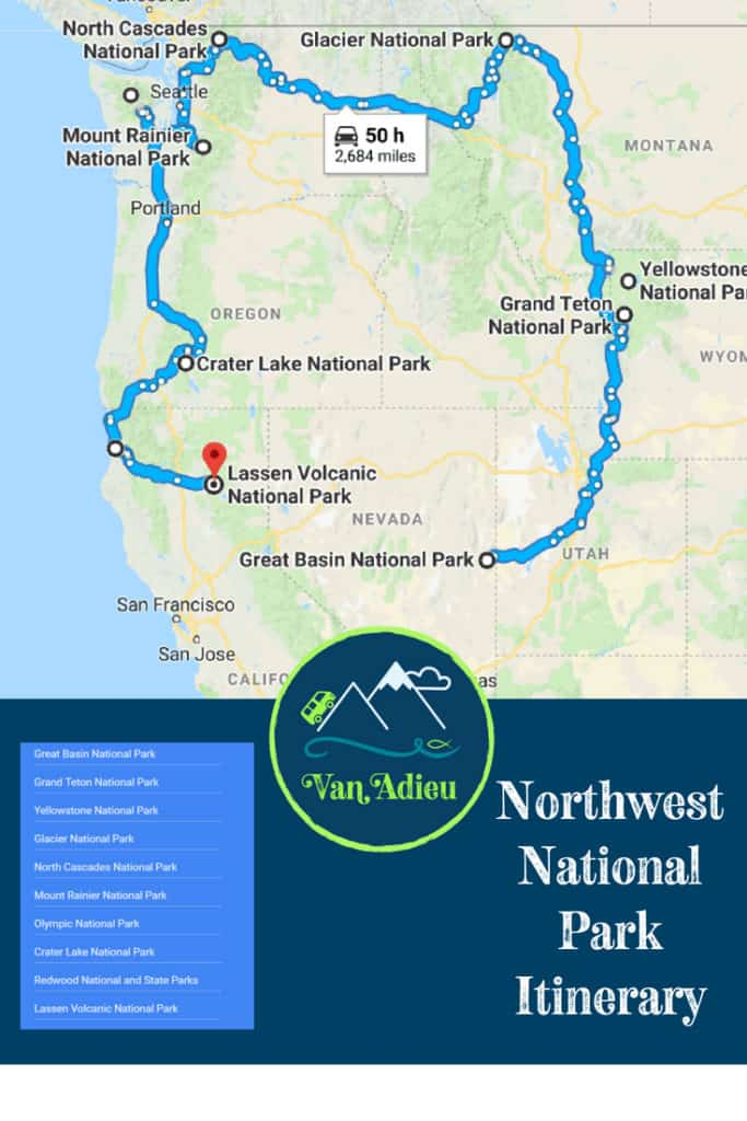 Northwest Road Trip