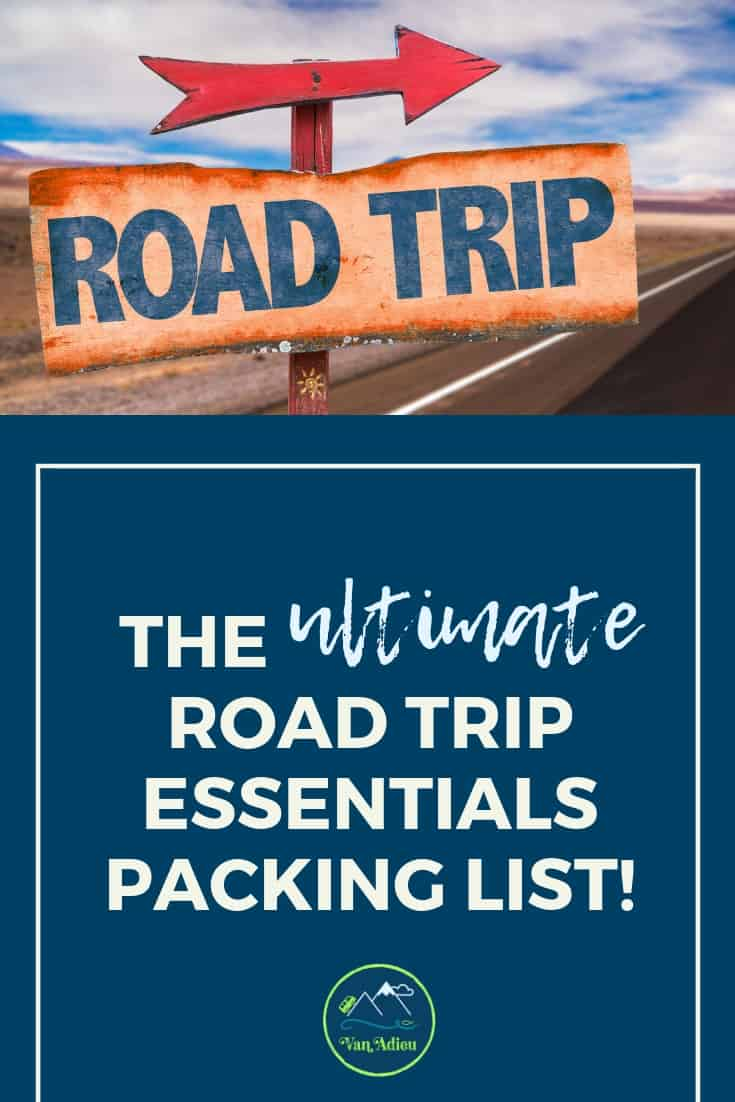 Road Trip Essential Packing List!