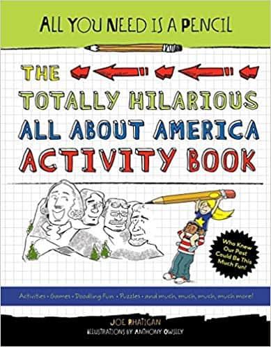 america activity book