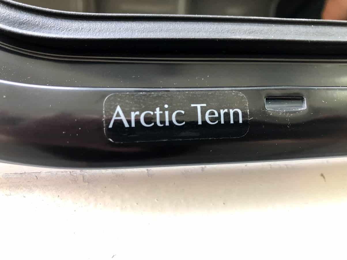 Arctic Tern Overland Acrylic Window