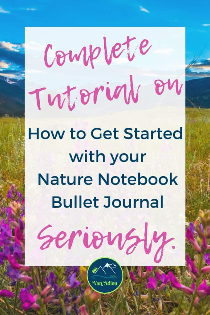 The Ultimate inspriation for how to start your Outdoor Adventure Journal! Full of tips, tricks, inspriation, ideas, DIY, drawing, products, mixed medial, writing prombts, and more for the beginner to advanced!