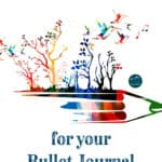 All the Creative Journaling Prompts you will need to start your amazing outdoor adventure journal, tralve notebook, nature notebook or bullet journal! These inspriational ideas and prompts will help you get started on your own incredible DIY journal!