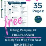 This FREE 35 page planner is fantastic for your next road trip or family vacation! Hiking, camping, RV - we've got you covered with free checklists and printables for any vacation! Fun ideas along with practical ways to make your next adventure amazing!