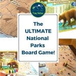 Trekking the National Parks Board Game is the ultimate family board game for players who want to have fun and compete in their race to see all the U.S. National Parks! Find National Park cards and trail stones while you travel across the country in this fun and competitive game!